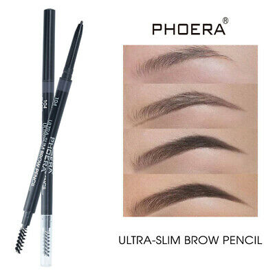 PHOERA Double Ends Eyebrow Pencil Ultra Thin Long-lasting Eyebrow Tattoo Liner.
