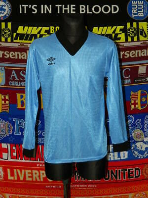 5/5 Umbro adults S vintage retro long sleeve shirt jersey