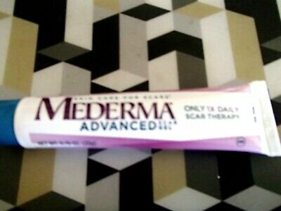 MEDERMA ADVANCED  SCAR GEL 1 x DAILY REDUCES THE APPEARANCE OF OLD & NEW SCARS