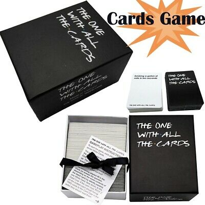 The One With All The Cards Board Game For Friend TV- Box Against The Friend US