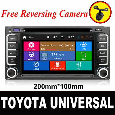 "Autoradio Moniceiver Für Toyota Radio GPS Navi DVD MP3 USB 6.2"" Touch screen"