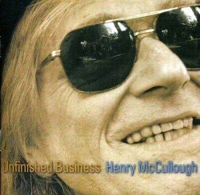 |1657528| Henry Mccullough - Unfinished Business [CD] New