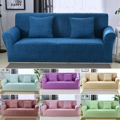 1/2/3 sofa Fundas sofá funda Stretch elástico tela settee protector Fit popular