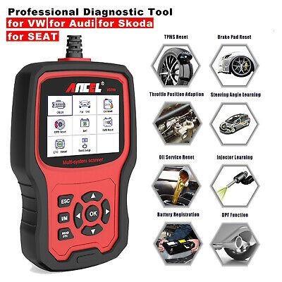 Ancel VD700 OBD2 Scanner Car Diagnostic Full System Airbag ABS Oil EPB TPMS Tool