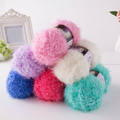 Super Soft Smooth Chunky Double Knitting Wool Yarn Baby Skein Ball Craft 100g