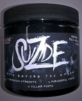 "Blackline Supplements ""SUIZIDE"" Hardcore Booster 165g US Formel + Gratis"