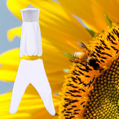 White Top + Pants Chemical Fiber Beekeeping Jacket Usefulness Hot KLL ONL