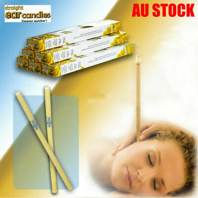 2-20 Pcs Ear Candling Candles Natural Beeswax Excellent Quality Wax - NEW 2019
