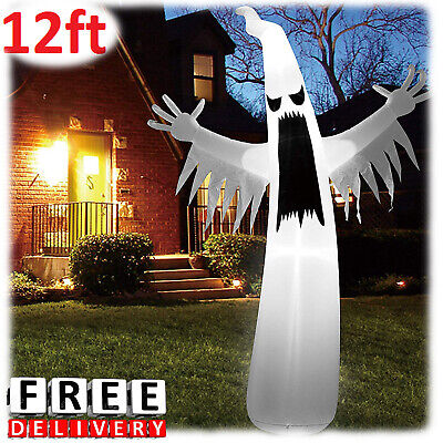 Halloween Inflatable Ghost Decoration Airblown 21Ft Spooky Scary Lighted Outdoor