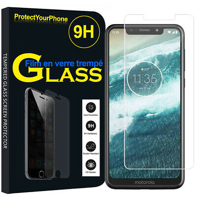 Vitre Protection Écran Film Verre Trempe Motorola One (P30 Play) 5.9""