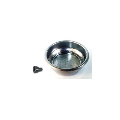 Gaggia 21000491 2 Cup Pressurised Filter Basket with Crema Filter Pin - 12/14g -