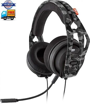 """Plantronics RIG 400HX Camo Stereo Gaming Headset for Xbox One- Camo FAST""""FREE US"""