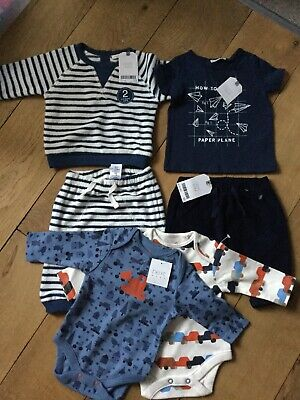 Next Baby Boys Clothes Brand New With Tags  0-3  Months