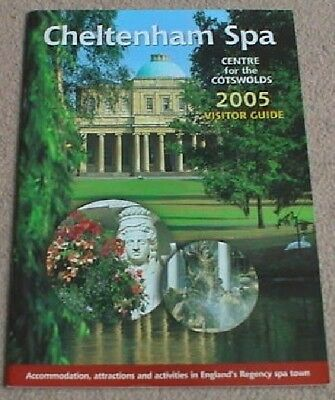 2005 Cheltenham Spa Visitor Guide Centre For The Cotswolds (53 Pages)