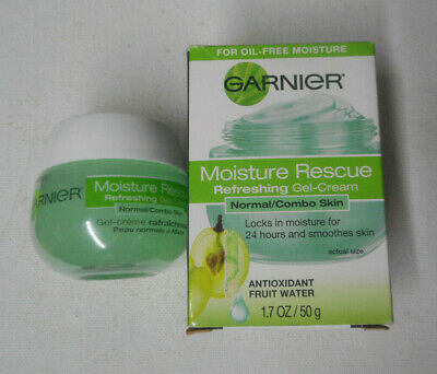 1.7oz GARNIER MOISTURE RESCUE REFRESHING GEL-CREAM NORMAL/COMBO SKIN uns nib