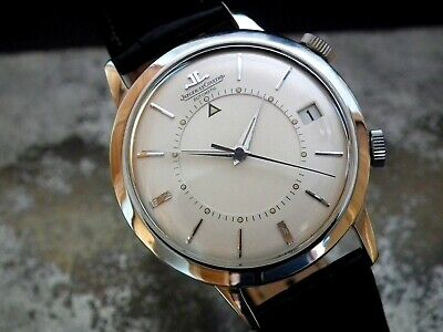 Stunning 1966 Jaeger le Coultre (Jumbo Size) Memovox Gents Vintage Watch
