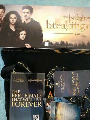 2012 Carmike Cinemas Vip Breaking Dawn Collectibles Items