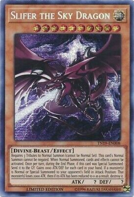 Slifer the Sky Dragon (TN19-EN008) - Prismatic Secret Rare