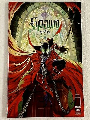 Spawn #300 Campbell Cover G Variant Image Comics Todd Mcfarlane 1st She-Spawn