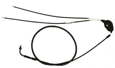 Universal Parts 2-stroke throttle cable. (Overall Length: 71 inches) Type A