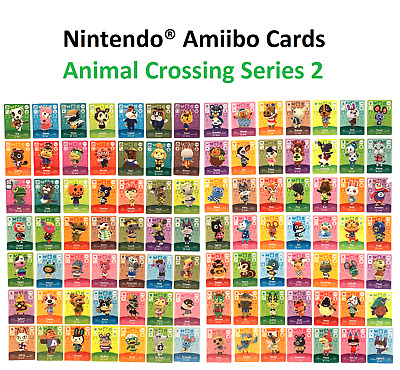 Individual Animal Crossing Amiibo Cards - Series 2 (#101-200)[US Ver.] YOU PICK!