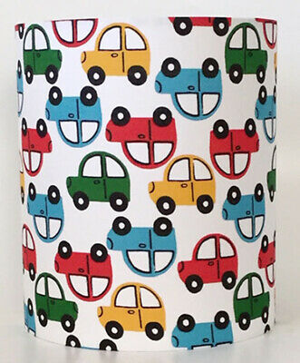 Transport, Cars Medium Fabric Light Shade