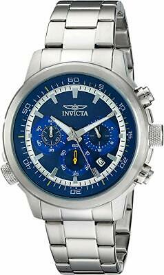 Invicta 19238 Men's Specialty Chronograph Stainless Steel Blue Dial Watch