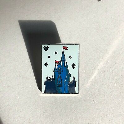 Walt Disney World Parks Hidden Mickey 2019 Castle Attractions WDW Trading Pin