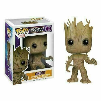 Hot With Box Funko Pop Guardians of the Galaxy GROOT Action Figure Toys Gift New