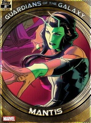 Topps Marvel Collect Guardians Of The Galaxy 2Nd Print Mantis  Digital Card