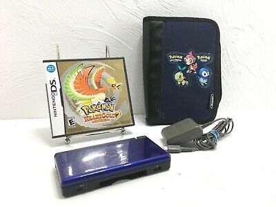 Nintendo Ds Lite Pokemon Hearts Gold Charger And Case