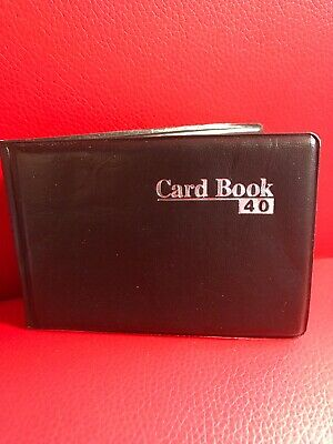 40 X Cards Holder Book