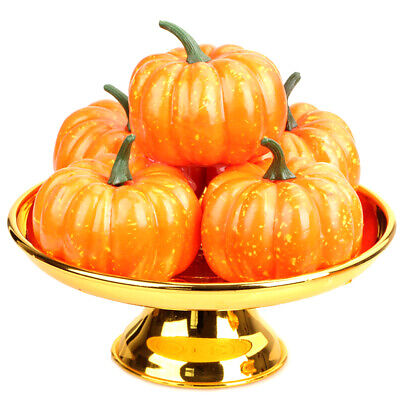 Halloween Simulation Small Pumpkin Foam Mini Orange Pumpkin Decoration Christmas