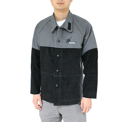 Arc Knight Welding Protective Jacket Coat Fireproof Fire Resistant Cloth