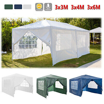 3x3M 3X4M 3x6M Gazebo Waterproof Outdoor Garden Party Marquee Canopy BRAND NEW