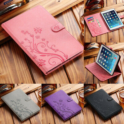 UK For Apple iPad 2 3 4/Air/Mini/Pro/9.7 Universal Leather Flip Stand Case Cover