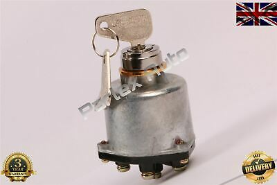 New Ignition Starter Switch For Digger Excavator ( Yanmar ) Uk Stock