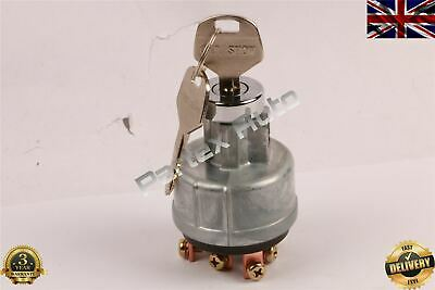 Ignition Starter Swich For Komatsu 6 Pins 08086-1000 Uk Stock