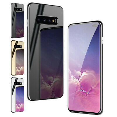 Luxury Mirror Slim Hybrid Rubber Case Cover For Samsung Galaxy S10e S10+ S9 Plus