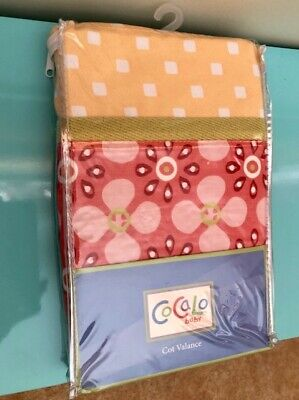 CoCaLo 'Up and Away' Cot Valance - Brand New