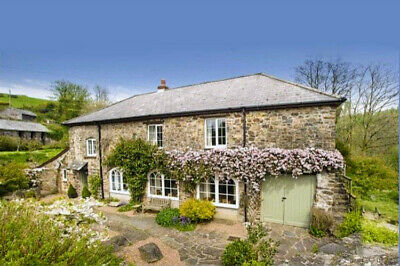 The Mill House Holiday Cottage,Devon,Exmoor National Park,Sleeps 6 In 3 Bedrooms