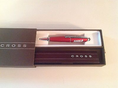 Cross Rolling Ball Pen Formula Red Rouge Grand Prix AT0555-7 with Case IH logo