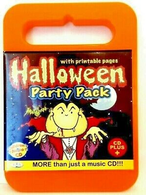 Halloween Party Pack  Carry Case Childrens Audio Cd+, Printable Masks, Games, Ro