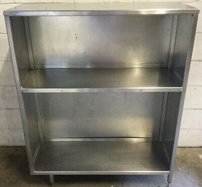 Commercial Kitchen Cafe,Restaurant Stainless Triple Shelf Wall Unit