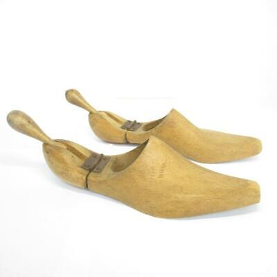 Vintage wooden shoe tree / stretcher adjustable approximate size 12 UK / 45 EUR