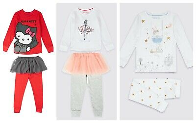 New Girls TuTu Pyjama Set  Ex M&S Age 18-24 Months 2-4 Years RRP £16