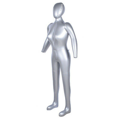 Full Body Clear Females Mannequins With Head New Fashion Store Window Display