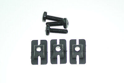 5 X  FORD GRANADA MK2 UP TO 08//1981  FRONT GRILLE RETAINING CLIPS NEW OLD STOCK