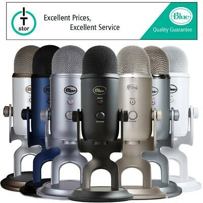 Blue Microphones Yeti USB Microphone Various Colours - Manufacturer Refurbished