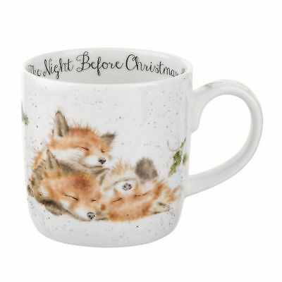 Royal Worcester - Wrendale Designs Night Before Christmas Mug (Set of 4)